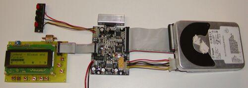 MP3-плейер с IDE-винчестером